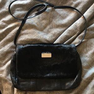 See by Chloe Haircalf & Leather Crossbody Bag
